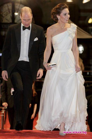 Кейт засенчи звездите на наградите БАФТА
