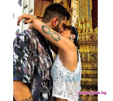 Божана заведе гаджето в Тайланд