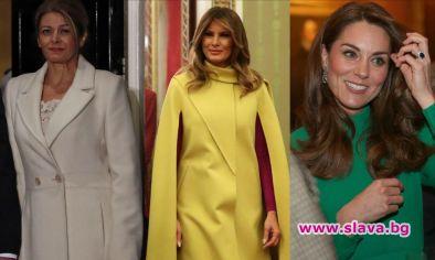 Радева, Мелания и Кейт на срещата на върха на НАТО