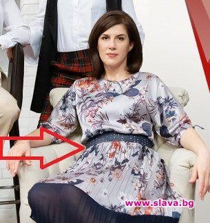 45-годишната Жени Марчева бременна с трето?