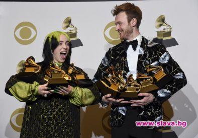 """Били Айлиш срещу """"Грами"""": С един албум - 5 от 6 награди"""