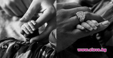 Ашли Греъм с първа снимка на бебето