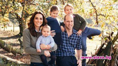 Уилям и Кейт спират с кралските задължения в името на децата