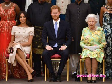 Кралицата отне Sussex Royal от Хари и Меган