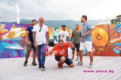 Квадрат 500 с първа графити изложба у нас