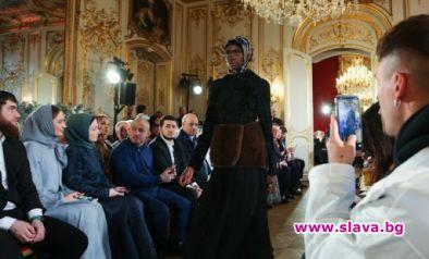 Чеченската 1ва дъщеря с ревю в Париж