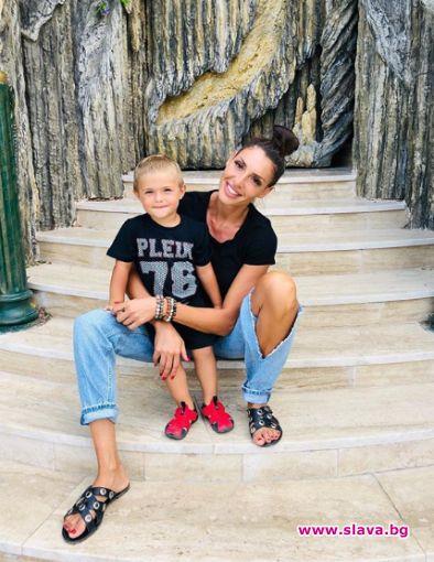 Златка Димитрова тормози 4-годишния си син да тренира