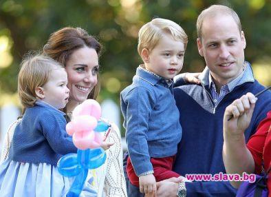 Уилям и Кейт сами ще обучават децата си