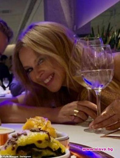 Кайли Миноуг пуска своя марка вино
