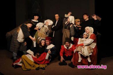 Младежкият театър онлайн с мегапродукцията Кола Брьонон довечера