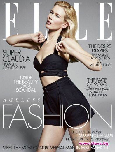 Клаудия Шифър за ELLE: Няма нужда да ме наричат красива...
