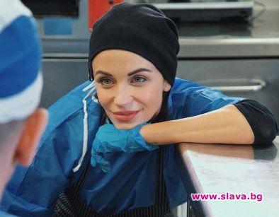 Диляна Попова готви за хората в нужда