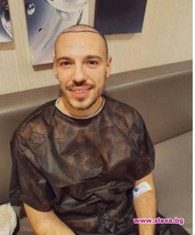 Три бона струва новата коса на Дани Петканов