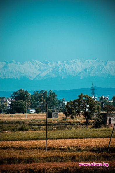 Хималаите се виждат от 200 км. за първи път от 30 години