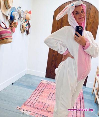 Кейти Пери обяви пола на бебето с трогателен пост