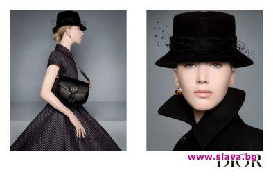 Дженифър Лорънс отново лице на Dior