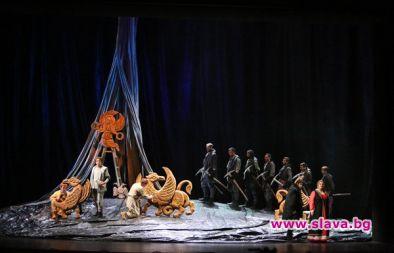 Софийската опера представя постановката, с която...