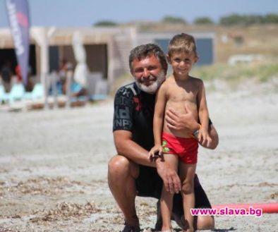 Синът на Милен Цветков иска да стане като баща си
