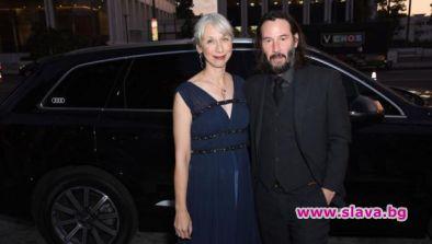 Киану Рийвс и Александра Грант са двойка мечта