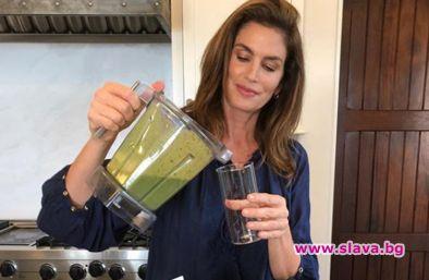 Зелено смути по рецепта на Синди Крауфорд