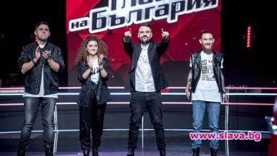 Първи голям концерт в Гласът на България