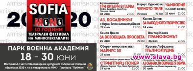 10-то издание на фестивала СОФИЯ МОНО