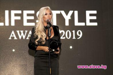Андреа блести на наградите  Lifestyle Awards  2019