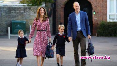 Принц Уилям и Кейт Мидълтън нарушават кралска...
