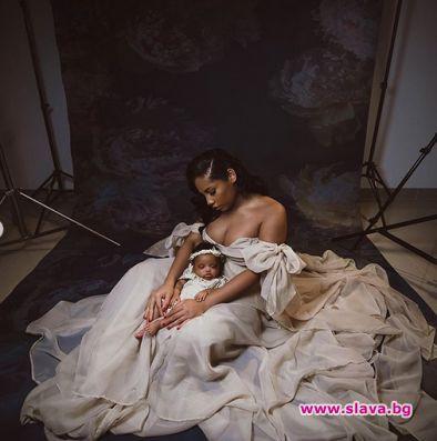 Юсейн Болт показа първородната си дъщеря