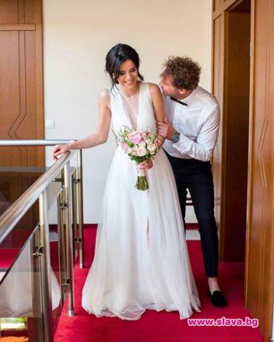Гочеви отпразнуваха 3 години от сватбата