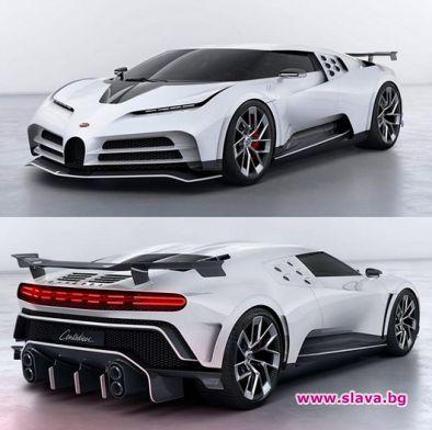 Роналдо си поръча ново Bugatti