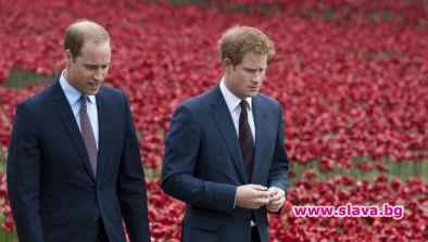 Принц Уилям и принц Хари с опити да се сдобрят