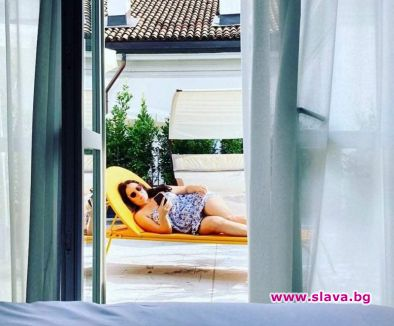 Соня в Скалата след концерта на Арена ди Верона