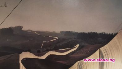 "Оригинални плакати на Кристо и Жан-Клод в ""Аросита"""