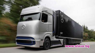 Mercedes показа първия си камион на водород