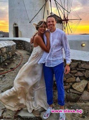 Алекс и Дани Петканови с тайна втора сватба в Гърция