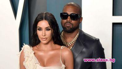 Ким Кардашиян пред развод с Кание
