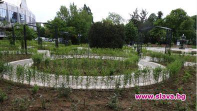 Ремонтират историческата част на Борисовата градина...