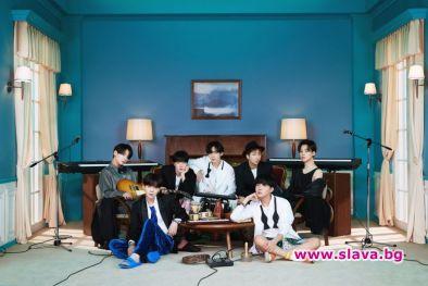 К-поп принцовете BTS издадоха нов албум