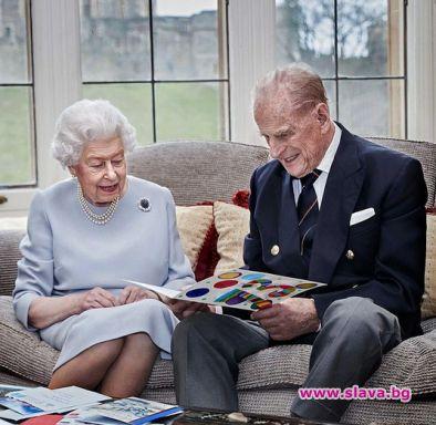 Кралица Елизабет II и принц Филип отпразнуваха 73...