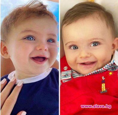 Джулиана Гани откри двойник на сина си в Русия
