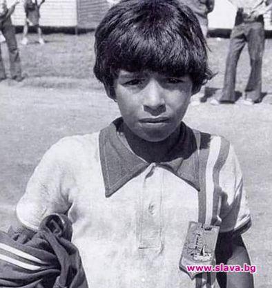 В памент на Марадона