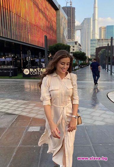 Саня на гости при сестра си в Дубай