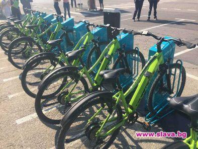 400 велосипеда под наем в София