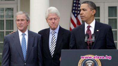Oбама, Буш и Клинтън ще се ваксинират срещу К19 по...