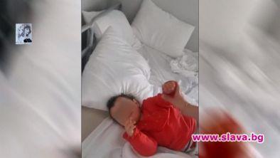 Затвориха невинна майка с бебе в килия на летище София