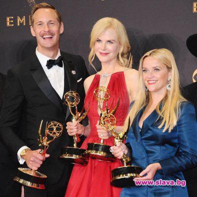 Историята на прислужницата спечели цели четири от основните награди Еми