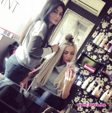 Златка Райкова увеличи грамажа на изкуствената си коса и побърза