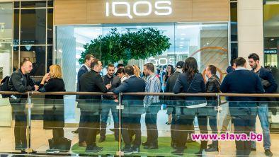 Първият специализиран IQOS бутик отвори врати на 31-ви януари в
