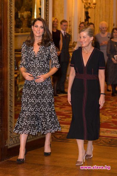 Херцогинята на Кембридж и графинята на Уесекс бяха домакини на